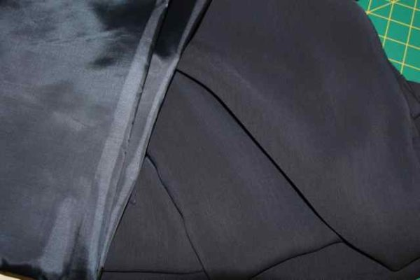Suiting fabric - dark navy