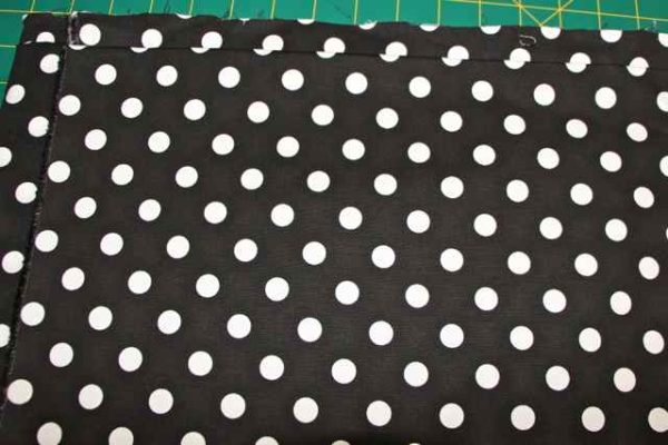 Cotton Black & White Spot Fabric
