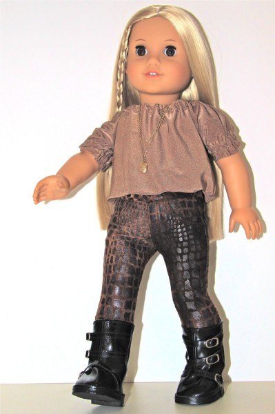 American Girl Doll Jeans worn by Julie