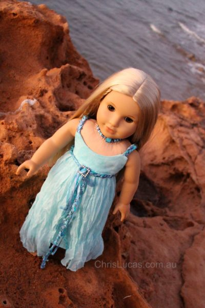 American Girl Doll Julie - Dress by Chris Lucas