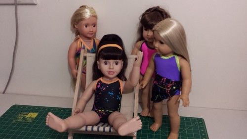 Australian Girl doll Swimwear by Chris Lucas Designs