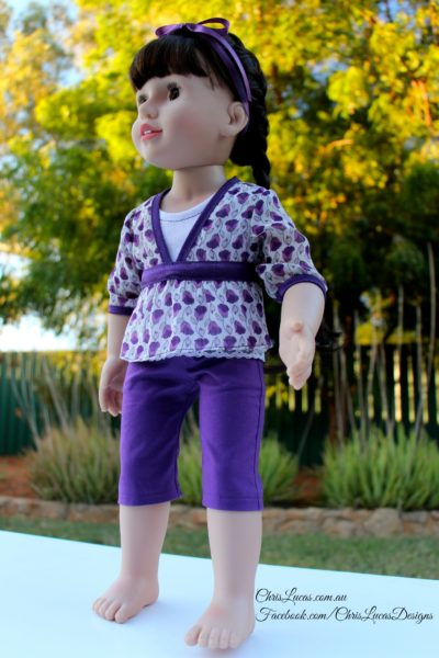 Australian Girl Doll Clothes - Chris Lucas Designs