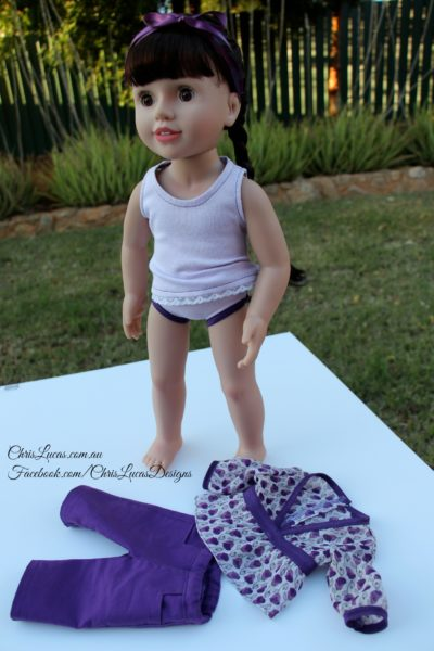 Chris Lucas Designs - Giveaway Outfit - AG Dolls Clothes
