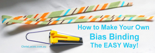 How to Make Your Own Bias Binding – The Easy Way!