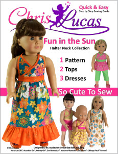Doll Sewing Pattern Collection – Fun in the Sun – So Cute to Sew!