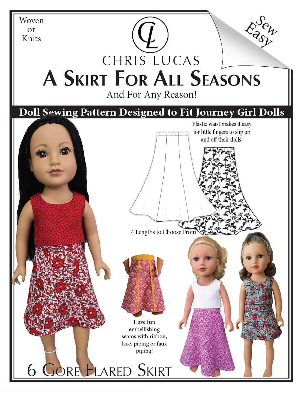 A Skirt for All Seasons - Chris Lucas Designs